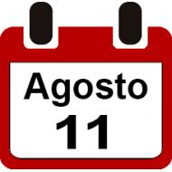 11 DE AGOSTO 2019
