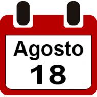 18 DE AGOSTO 2019