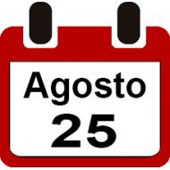 25 DE AGOSTO 2019