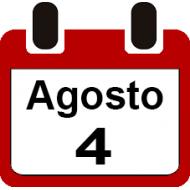 4 DE AGOSTO 2019