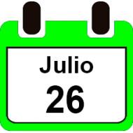 26 DE JULIO 2020