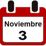 3 DE NOVIEMBRE 2019