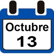 13 DE OCTUBRE 2019