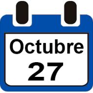 27 DE OCTUBRE 2019